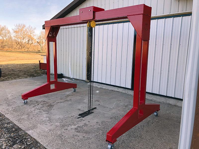 I-Lift Portable Gantry Crane - Red