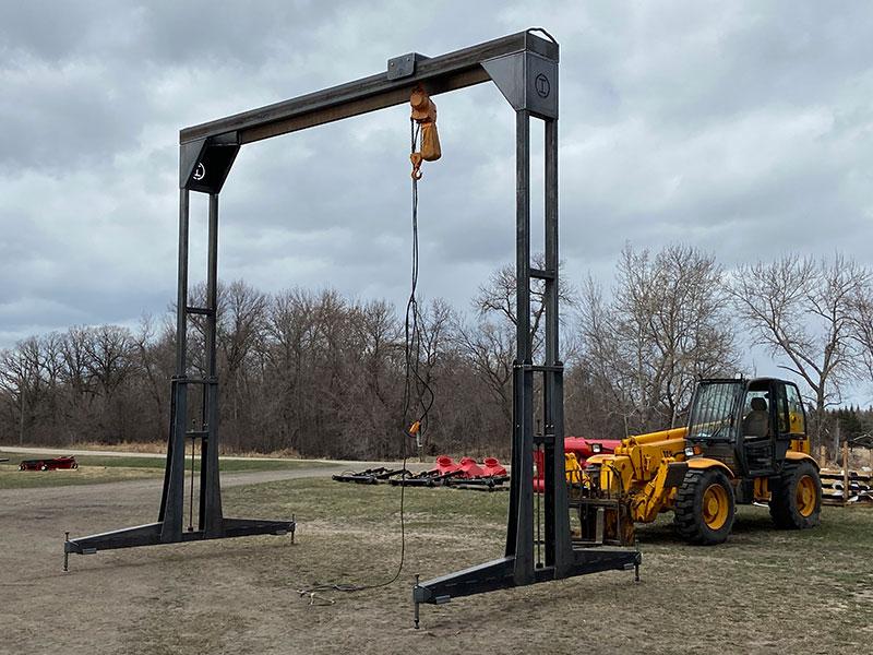 Ironco Enterprises 20 foot wide Adjustable Height Gantry Crane